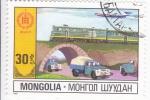 Sellos de Asia - Mongolia -  TRANSPORTES