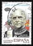 Stamps : Europe : Spain :  Derechos humanos - Ángel Sanz Briz