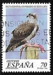 sellos de Europa - España -  Fauna española en peligro de extinción - Águila pescadora