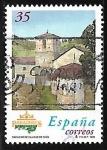 Sellos del Mundo : Europa : España : Parador de Cangas de Onís (Asturias)