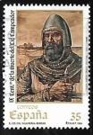 Sellos del Mundo : Europa : España : IX centenario de la muerte del Cid Campeador - El Cid