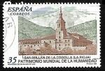 Sellos del Mundo : Europa : España : Patrimonio Mundial de la Humanidad - San Millán de la Cogolla (La Rioja)