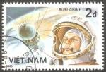 Sellos del Mundo : Asia : Vietnam : 679 - 25 Anivº del primer hombre en el Espacio, Gagarin y Vostok