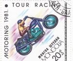 Stamps Asia - Mongolia -  MOTORING-91