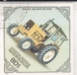 Stamps Asia - Mongolia -  TRACTOR- BELARUS