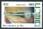 Stamps : America : Cuba :  LOOCKHED - 10  ELECTRA