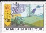 Sellos del Mundo : Asia : Mongolia : COMUNICACIONES