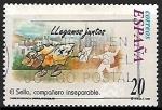 de Europa - España -  El sello, compañero inseparable - Llegamos juntos