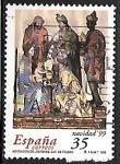 de Europa - España -  Navidad'99 -