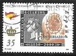 de Europa - España -  150º Aniversario del primer sello español -
