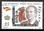Stamps Spain -  150º Aniversario del primer sello español -