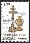 Stamps : Europe : Spain :  Edades del Hombre - Lignum Crusis