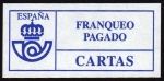 Stamps Europe - Spain -  COL-FRANQUEO PAGADO / CARTAS