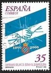 Stamps : Europe : Spain :  Centenario del R.C.D. Espanyol de Barcelona