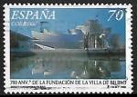 Stamps : Europe : Spain :  700º Aniversario de la Villa de Bilbao