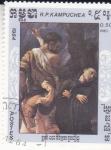 Stamps Asia - Cambodia -  PINTURA-