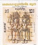 Stamps Asia - Cambodia -  CULTURA KHMERE