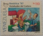 Stamps : America : Venezuela :  Vicisitudes del catrero