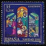 Sellos de Europa - España -  Navidad 2000 - Belen