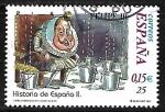 Sellos de Europa - España -  Historia de España - Felipe III