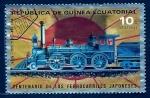 sellos de Africa - Guinea Ecuatorial -    Locomotora