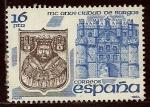 sellos de Europa - España -  Castillo