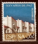 sellos de Europa - España -  XXV años de paz