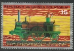 Stamps Africa - Equatorial Guinea -  Locomotora
