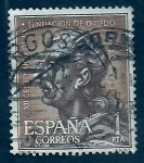 Stamps Europe - Spain -  XII cent.Fundacion Oviedo