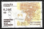 Sellos de Europa - España -  Patrimonio Mundial de la Humanidad - San Cristóbal de la laguna