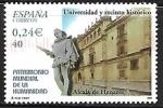 Stamps Europe - Spain -  Patrimonio Mundial de la Humanidad - Universidad y recinto histórico