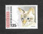 Stamps : Africa : Guinea :  Gato