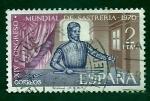 Stamps Spain -  Congreso Mundial de Sastreria