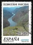 Sellos de Europa - España -  Naturaleza - Ribeira Sacra