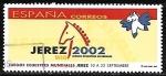 Stamps Spain -  Juegos ecuestres mundiales - Jerez 2002