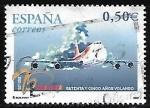 Sellos de Europa - España -  Iberia setenta y cinco años volando