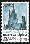 Sellos de Europa - España -  Templo expiatório de la Sagrada Familia