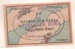 Stamps : America : Colombia :  Aviación 1920