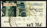 Stamps Spain -  COL- ATM-ARQUITECTURA POSTAL ZARAGOZA