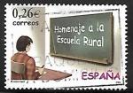 Stamps Spain -  Homenaje a la escuela rural