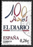 Stamps of the world : Spain :  Diario centenario - El diario Montañes (Santander)
