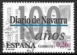 Sellos de Europa - España -  Diario centenario - Diario de Navarra (Pamplona)