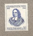 Sellos de Europa - Italia -  Giambattista