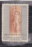 Sellos de America - Uruguay -  MONUMENTO