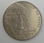 monedas de America - Estados Unidos -  2015 p dice cents
