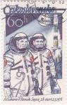 Stamps : Europe : Czechoslovakia :  ASTRONAUTAS A.GUBAREV-V.REMEK