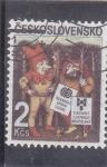 Sellos de Europa - Checoslovaquia -  GNOMOS