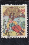 Stamps of the world : Czechoslovakia :  CUENTO INFANTIL
