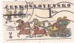 Stamps of the world : Czechoslovakia :  CARRUAJE