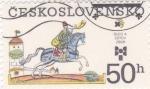 Stamps Czechoslovakia -  CORREO A CABALLO
